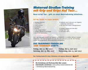 Motorrad-Straßentraining