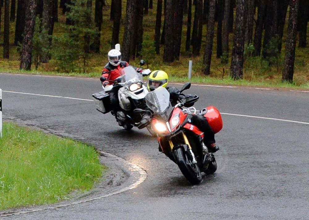 Mit Auf Tour... Motorradreisen unterwegs mit Achim 1. Test-Tour 2016 am 16. und 17. April ins Schlaubetal. NUR ZUR PRIVATEN VERWENDUNG
