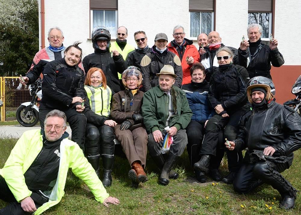 Mit Auf Tour... Motorradreisen unterwegs mit Achim 2. Saisonauftakttour 2016 am 23. und 24. April ins Schlaubetal.NUR ZUR PRIVATEN VERWENDUNG