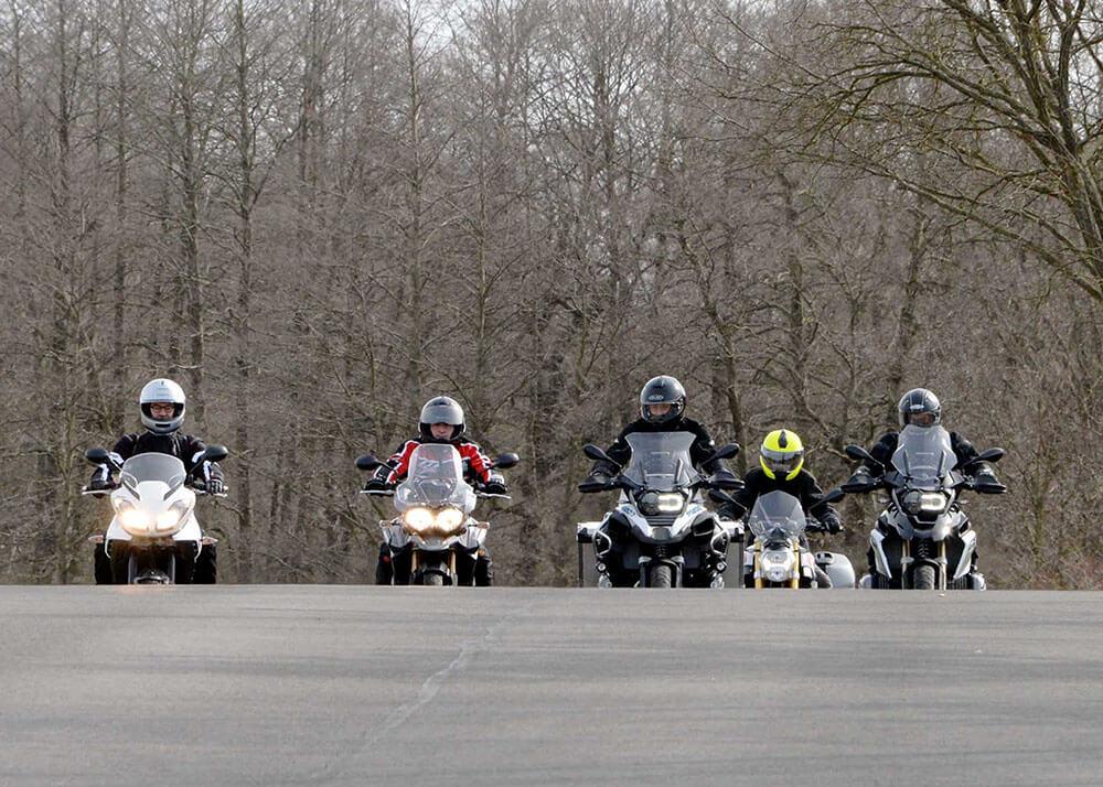 1. BMW-Test-Tour  - Triumph-Test-Tour mit Auf Tour Motorradreisen - unterwegs mit Achim am11. und 12. April 2015.NUR ZUR PRIVATEN VERWENDUNG