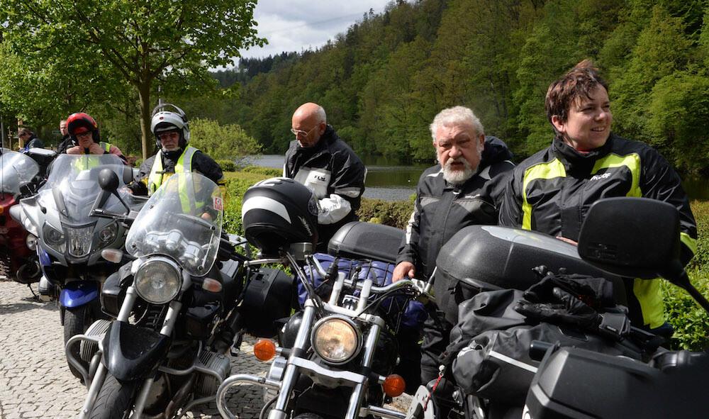 Auf Tour... Motorradreisen unterwegs mit Achim Fichtelgebirgstour 2016. NUR ZUR PRIVATEN VERWENDUNG