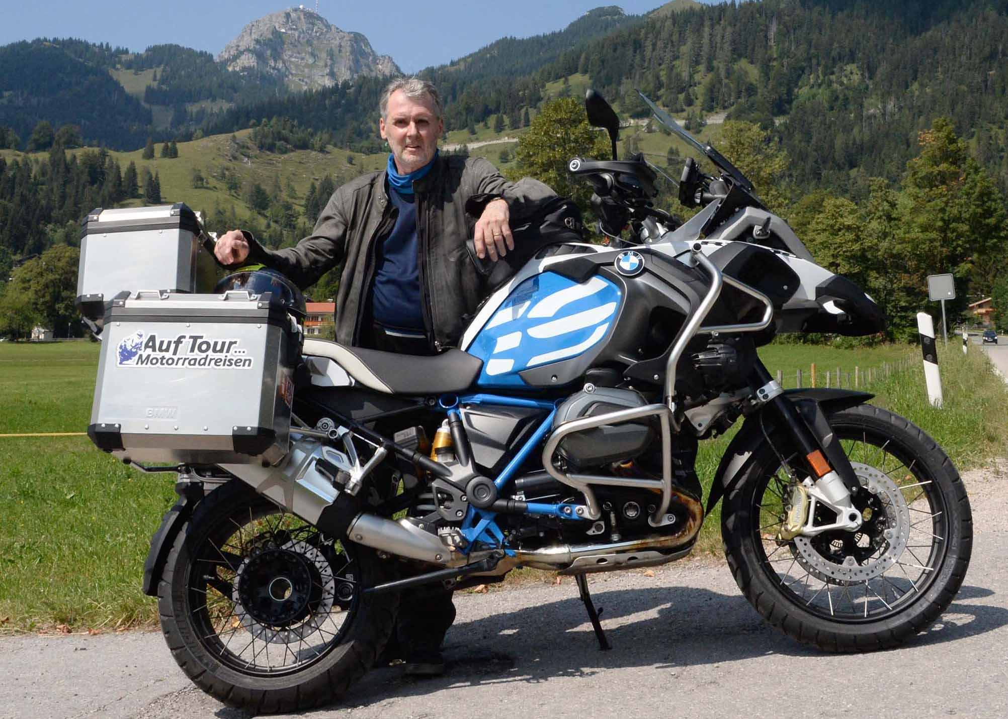 """Auf Tour... Motorradreisen - """"unterwegs mit Achim"""" Alpentour durch vier Länder - Bayerische, Österreichische, Italienische und Schweizer Alpenwelt 2018 NUR ZUR PRIVATEN VERWENDUNG"""