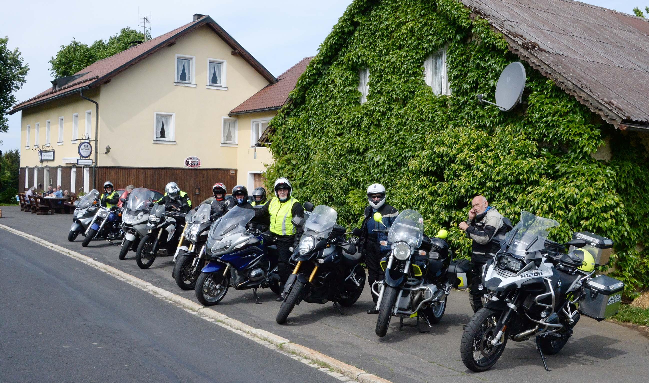 """Auf Tour... Motorradreisen """"unterwegs mit Achim"""" Fichtelgebirge mit Saaletal und Bleilochtalsperre 2018. NUR ZUR PRIVATEN VERWENDUNG"""