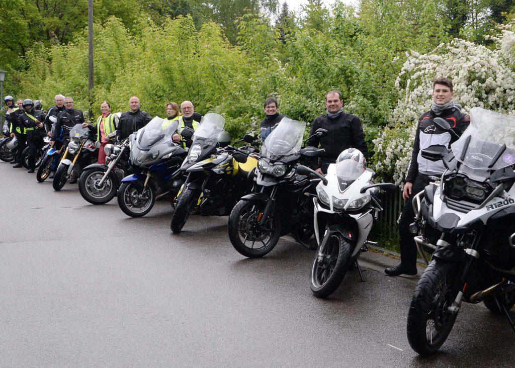 """Auf Tour... Motorradreisen """"unterwegs mit Achim"""" 2. Saisonstarttour am 11. und 12. Mai 2019 ins Schlaubetal.NUR ZUR PRIVATEN VERWENDUNG"""