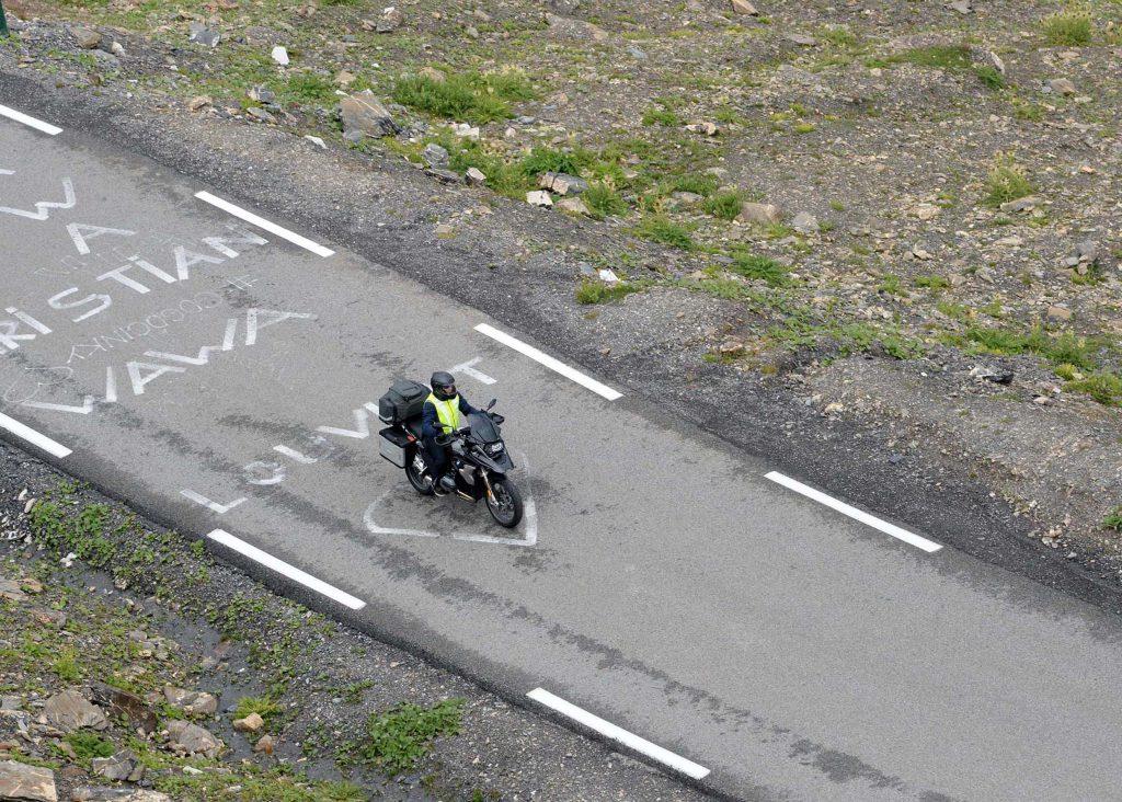 """Auf Tour... Motorradreisen - Motorrad. Reisen. Spaß. """"unterwegs mit Achim"""" Frankreich - Tour 2019 - Route des Grandes AlpesNUR ZUR PRIVATEN VERWENDUNG"""